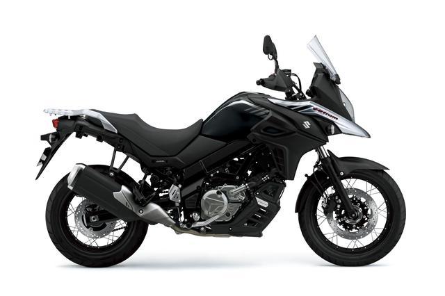 画像: V-Strom 650XT ABS 645cc 69ps/8800rpm 950,400円 5月30日発売 カラー:グラススパークルブラック