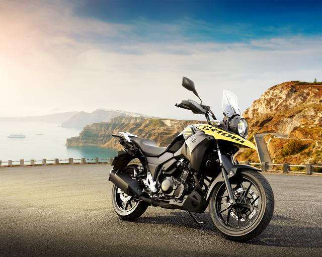 画像: V-Strom250 248cc 24ps/8000rpm 価格未定 発売時期未定