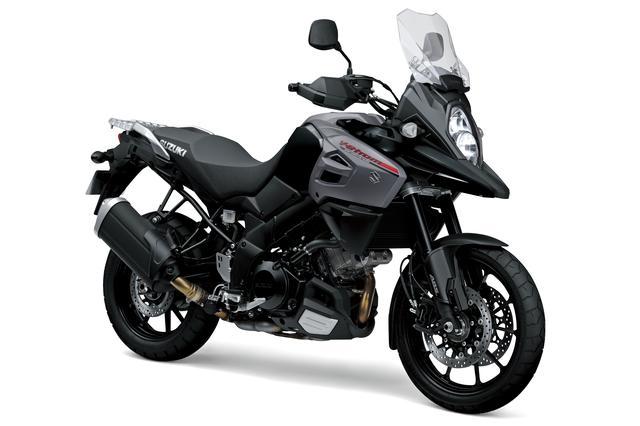 画像: V-Strom 1000 ABS 1036cc 99ps/8000rpm 1,404,000円 6月26日発売 カラー:グラススパークルブラック