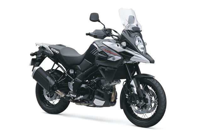 画像: V-Strom 1000XT ABS 1036cc 99ps/8000rpm 1,447,200円 6月26日発売 カラー:グラススパークルブラック
