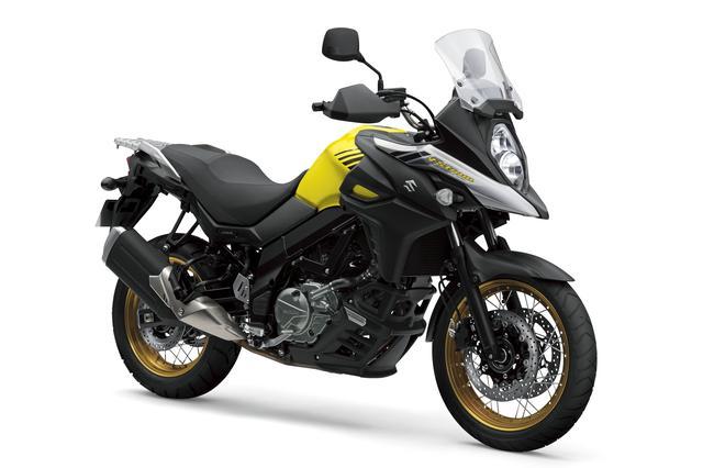 画像: V-Strom 650XT ABS 645cc 69ps/8800rpm 950,400円 5月30日発売 カラー:チャンピオンイエローNo.2