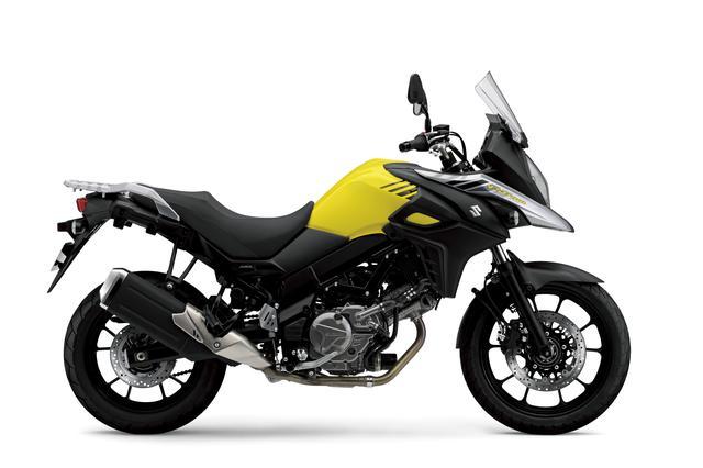 画像: V-Strom 650 ABS 645cc 69ps/8800rpm 907,200円 5月30日発売 カラー:チャンピオンイエローNo.2