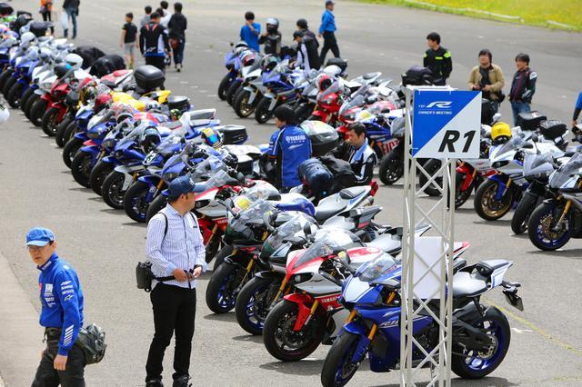 画像: 6月4日(日)、宮城県のスポーツランドSUGOで 『YZF-R オーナーズミーティング』が開催されました