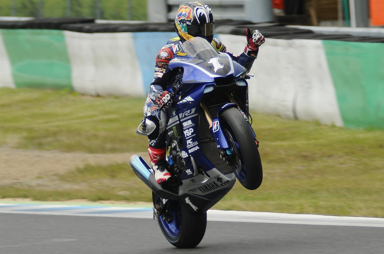 画像: ポールポジションを獲得した中須賀克行 今シーズン初のスプリントレースで初優勝なるか!