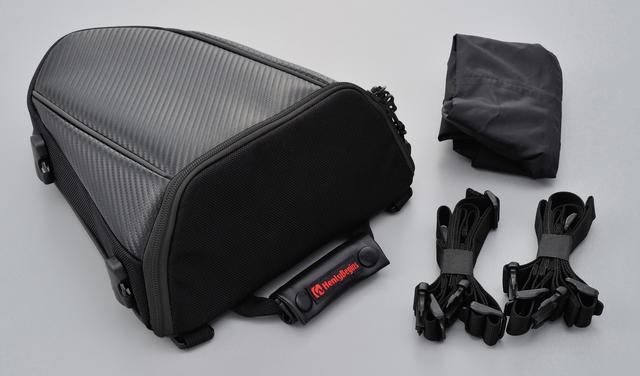 画像: カーボン&ブラック カーボン調合皮&1680Dポリエステル(ブラックファスナー仕様) ■8500円