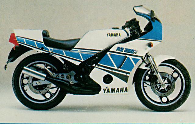 画像: RZ250RR YSP LIMITED(1984年)