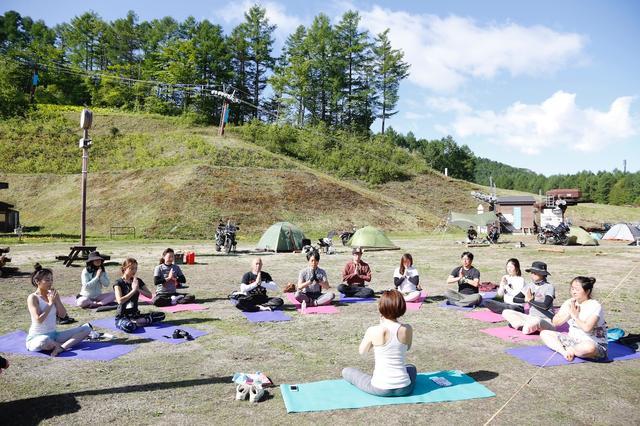 画像2: 「トライキャンプ」に行ってきたよ(福山理子)