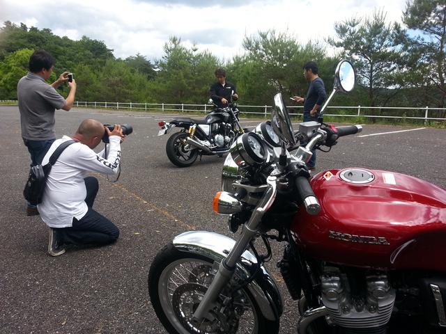画像: いま発売中のオートバイ8月号 伊藤真一さんの『ロングラン研究所!』の撮影で「CB1100RS」と「CB1100EX」を堪能しました\(^o^)/