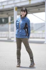 画像1: オートバイ8月号では、クシタニ・ミューラージャケット(レディース)を着用!
