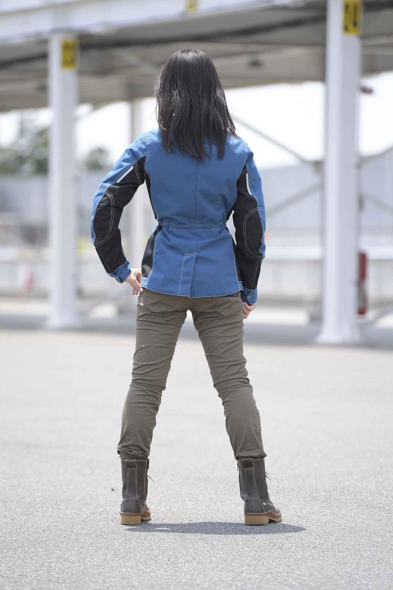 画像3: オートバイ8月号では、クシタニ・ミューラージャケット(レディース)を着用!