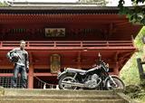 画像1: リターンライダーとしてヤマハSR400で神社を巡る!