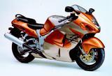 画像: ■SUZUKI GSX1300Rハヤブサ 1999年 20世紀世界最速を狙う量産市販車として、スズキが発売した「アルティメット・スポーツ」。当時、量産市販車最強の175馬力をマーク。月刊オートバイ誌のテスト計測でも市販車として史上初の300km/hオーバーを達成した。そのパワーは強力ではあるが、街乗りでも十分な実用性を兼ねており、人気を博した。 ●水冷4ストDOHC4バルブ並列4気筒●1298cc●175PS/9800rpm●14.1kg-m/7000rpm●215kg●120/70ZR17・190/50ZR17●輸出車
