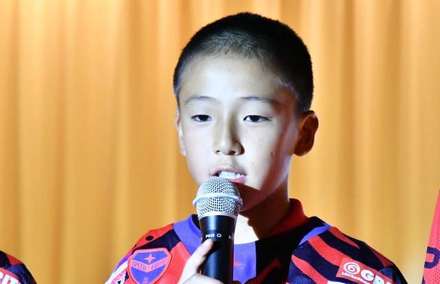 画像: 田中淳也くん(11歳)