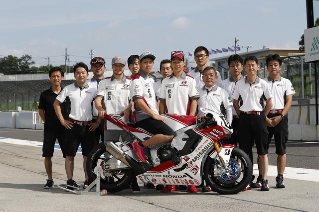 画像: 自分のチームにMotoGPライダー、moto2ライダーを迎え入れる高橋