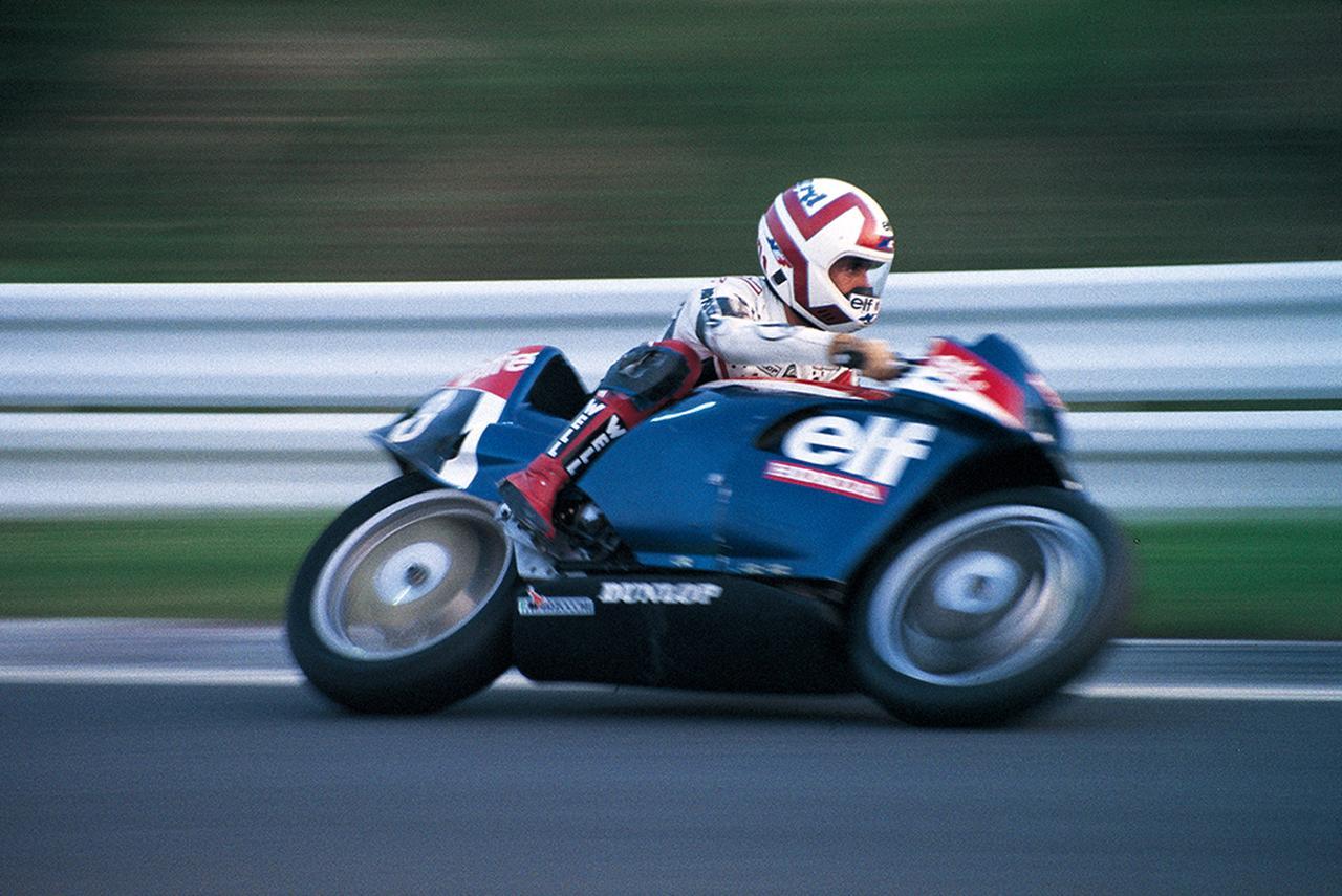 画像: elf-eは1983年にはル・マン24時間耐久をはじめとする世界耐久選手権に参戦し、7月には第6回鈴鹿8時間耐久レースにも参戦した。