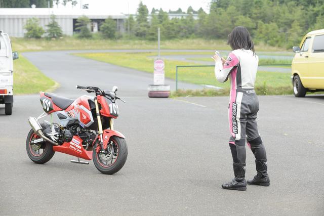 画像: ほぼ月刊「梅本まどかとオートバイ」vol.5 HRC GROM