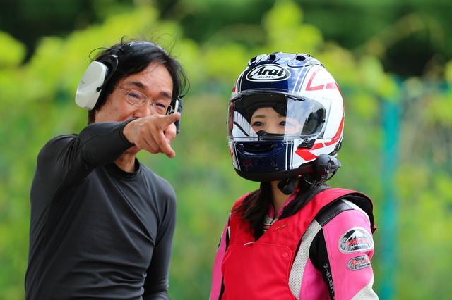 画像1: 今日のコーチだった、オートバイ誌の太田さんは、「想像より遥かにスムーズに速く走れるようになった」とホメてましたが、自分でも成長は感じた?