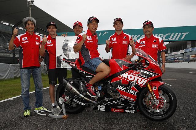 画像: ヨシムラはシルバン・ギュントーリのペース、スピードが優勝へのカギになりそうです