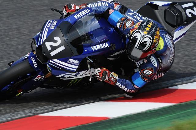 画像: 2分05秒台には届かなかった中須賀。ミスのない、バイクを暴れさせないアタックラップでした!