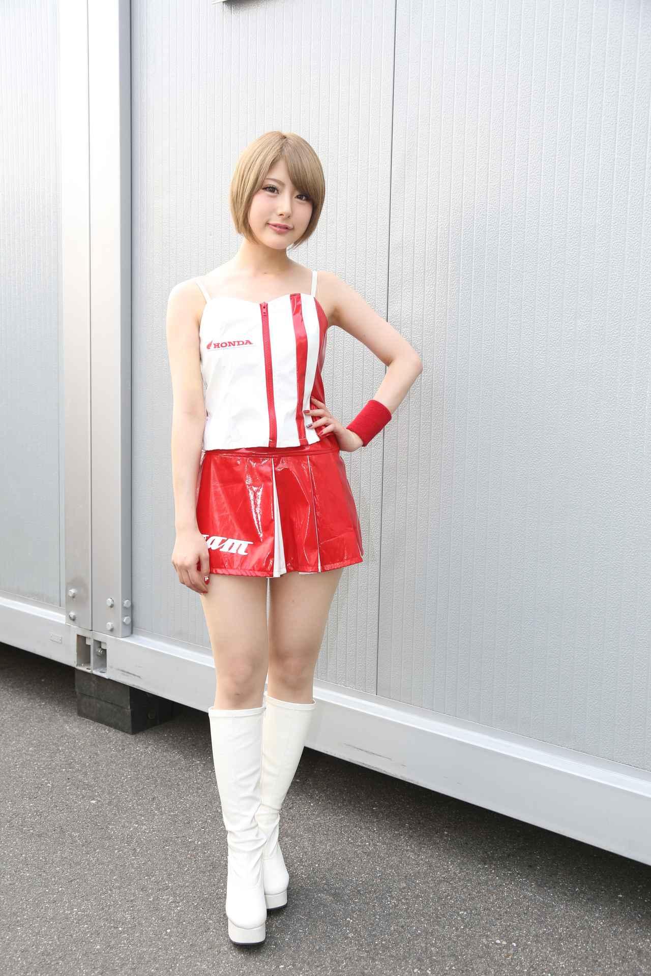 画像2: レースクイーンは藤咲花蓮さん!