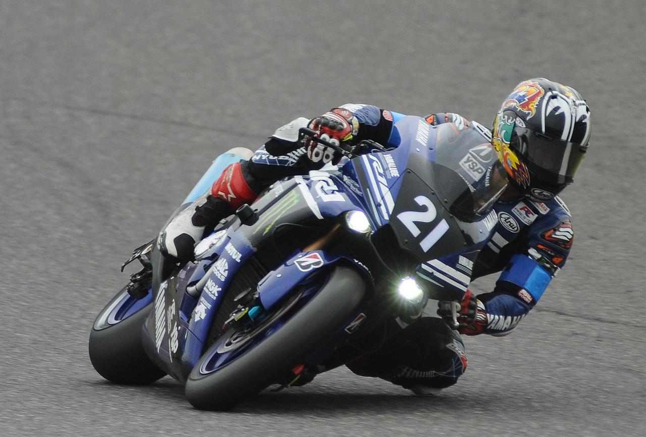 画像: チームの軸として3連覇に貢献した中須賀。文句なし、日本最速の男!
