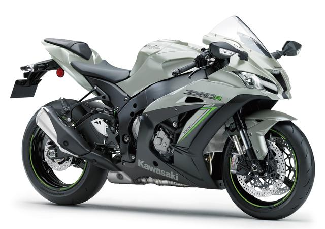 画像1: Kawasaki Ninja ZX-10R(メタリックマットフュージョンシルバー×メタリックフラットスパークブラック)