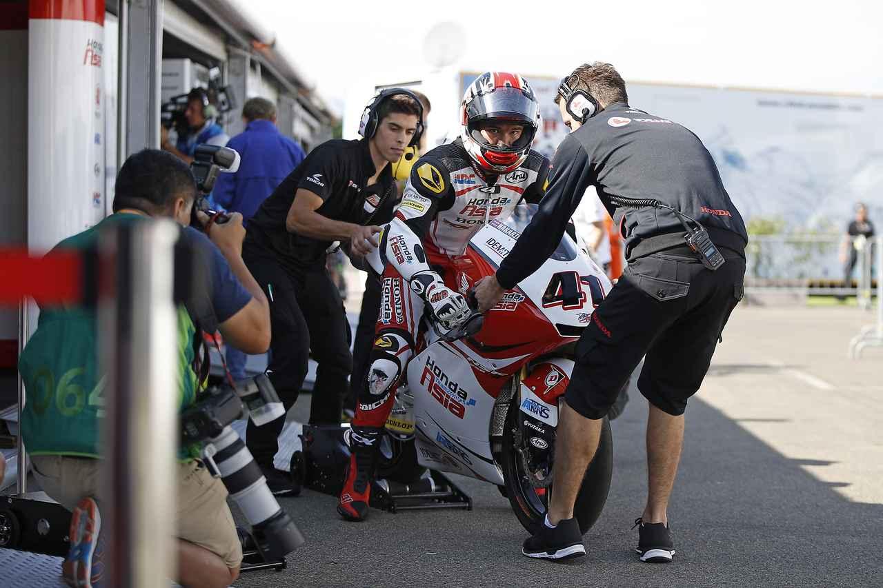 画像: ナカリン・アティラプワパ 選手(Moto3)