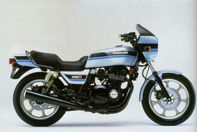 画像: Z1100R(1984年)