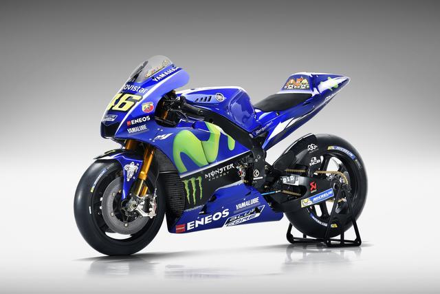 画像: 2017 YZR-M1 46バレンティーノ・ロッシ選手MotoGPマシン