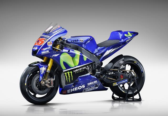 画像: 2017 YZR-M1 25マーベリック・ビニャーレス選手MotoGPマシン
