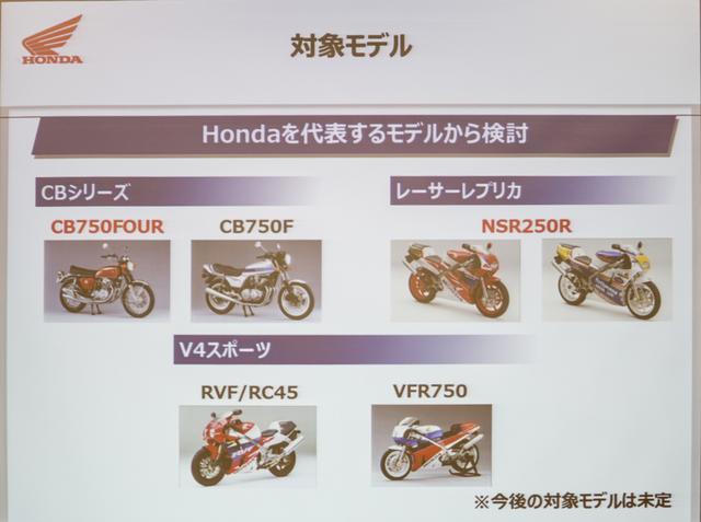 画像3: NSR250RとCB750Four で受注生産 ホンダの部品供給は旧車事情をどう変える?