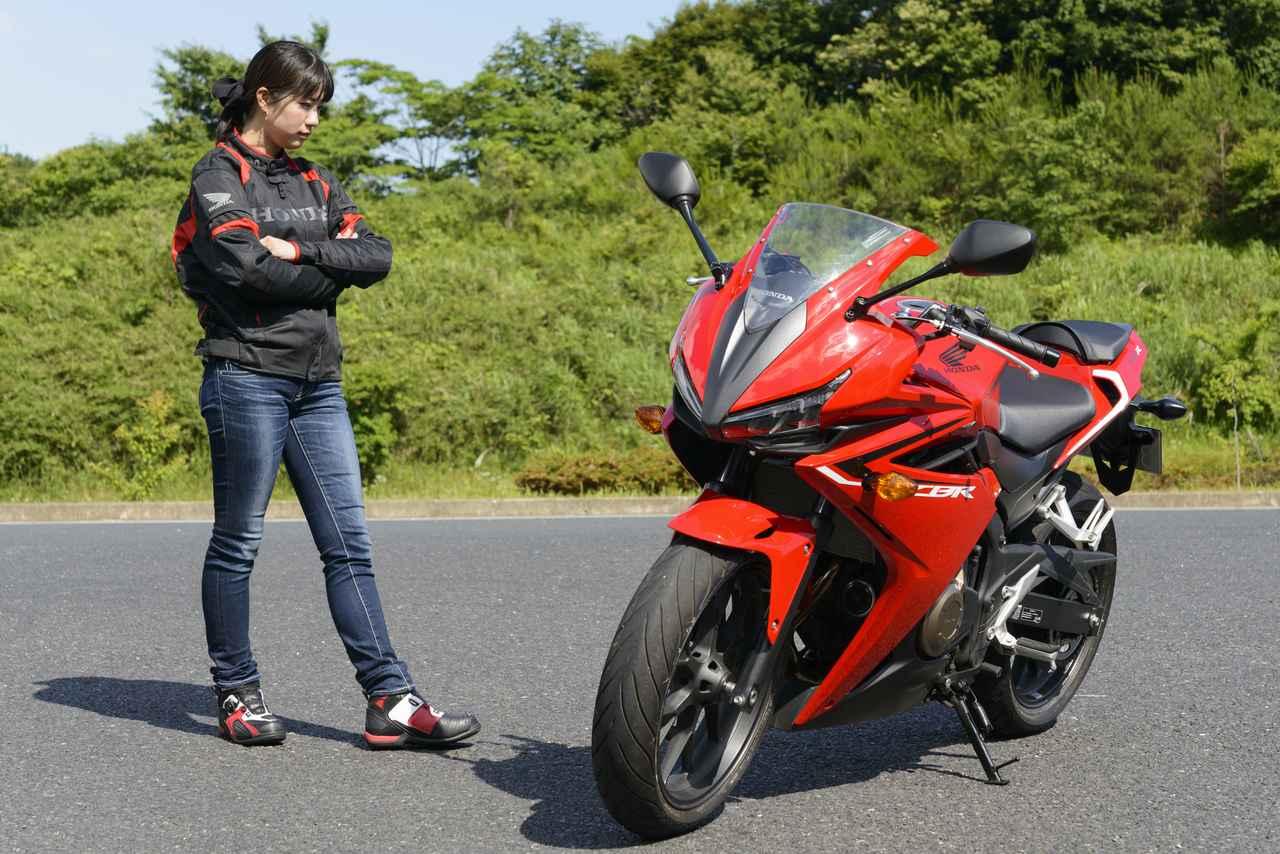 画像: ほぼ月刊「梅本まどかとオートバイ」vol.7 HONDA CBR400R