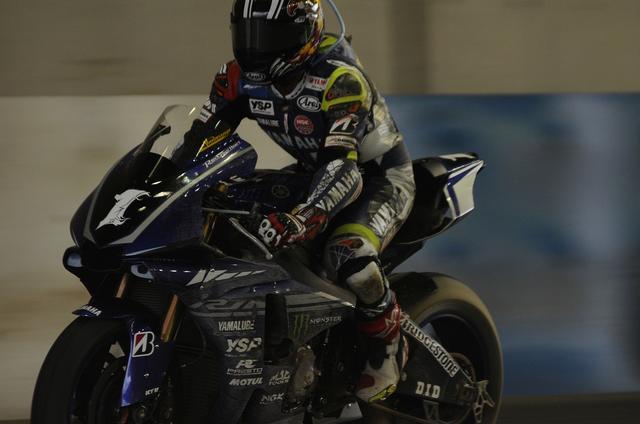 画像: 転倒、再スタートからピットに戻った中須賀 ラスト3周の出来事でした…