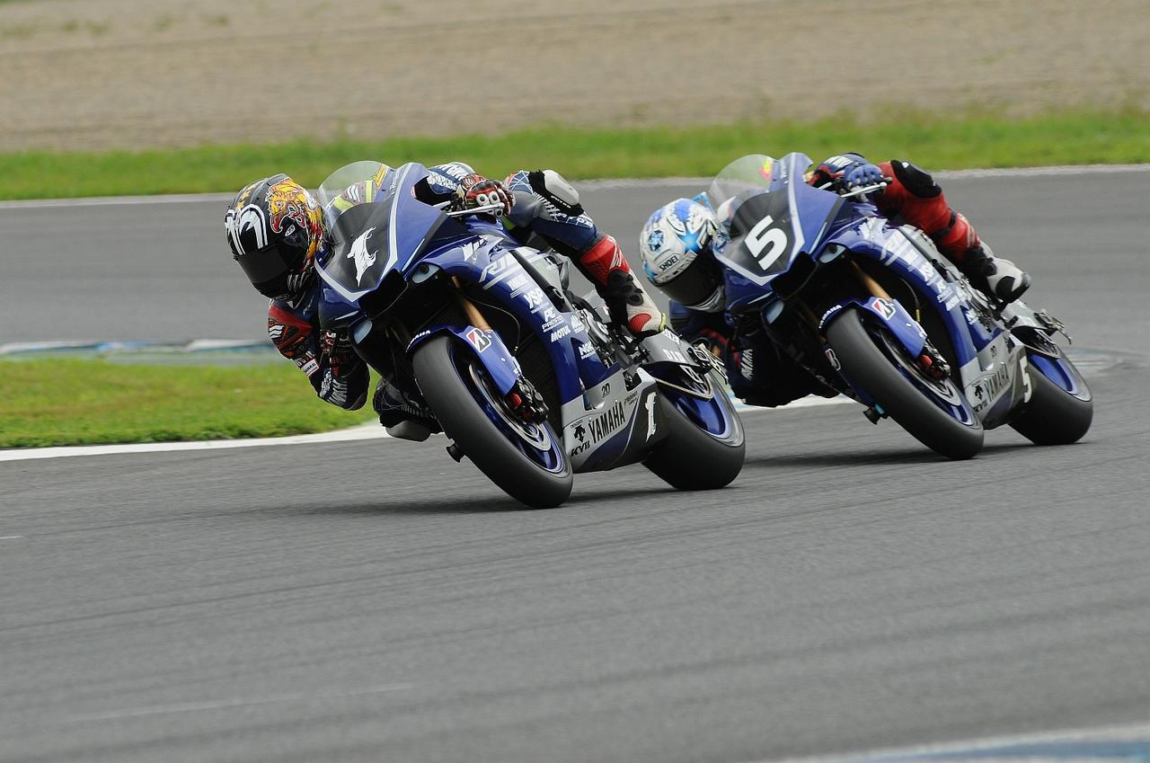 画像: こちら決勝レース レースの大半をこのポジションで周回しました