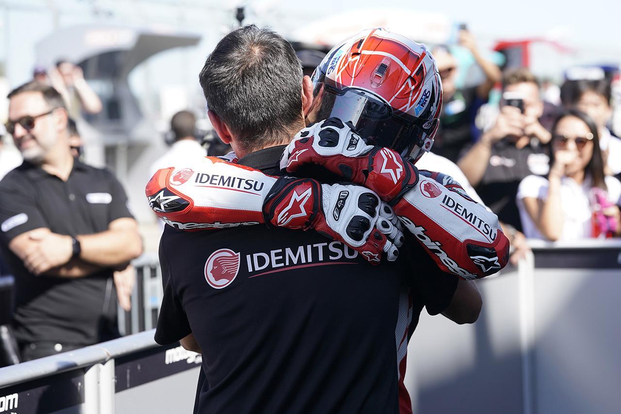 画像3: 中上がイギリスGPで劇的な優勝 ※IDEMITSU Honda Team Asia プレスリリース