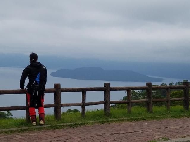 画像: 藻琴山展望台