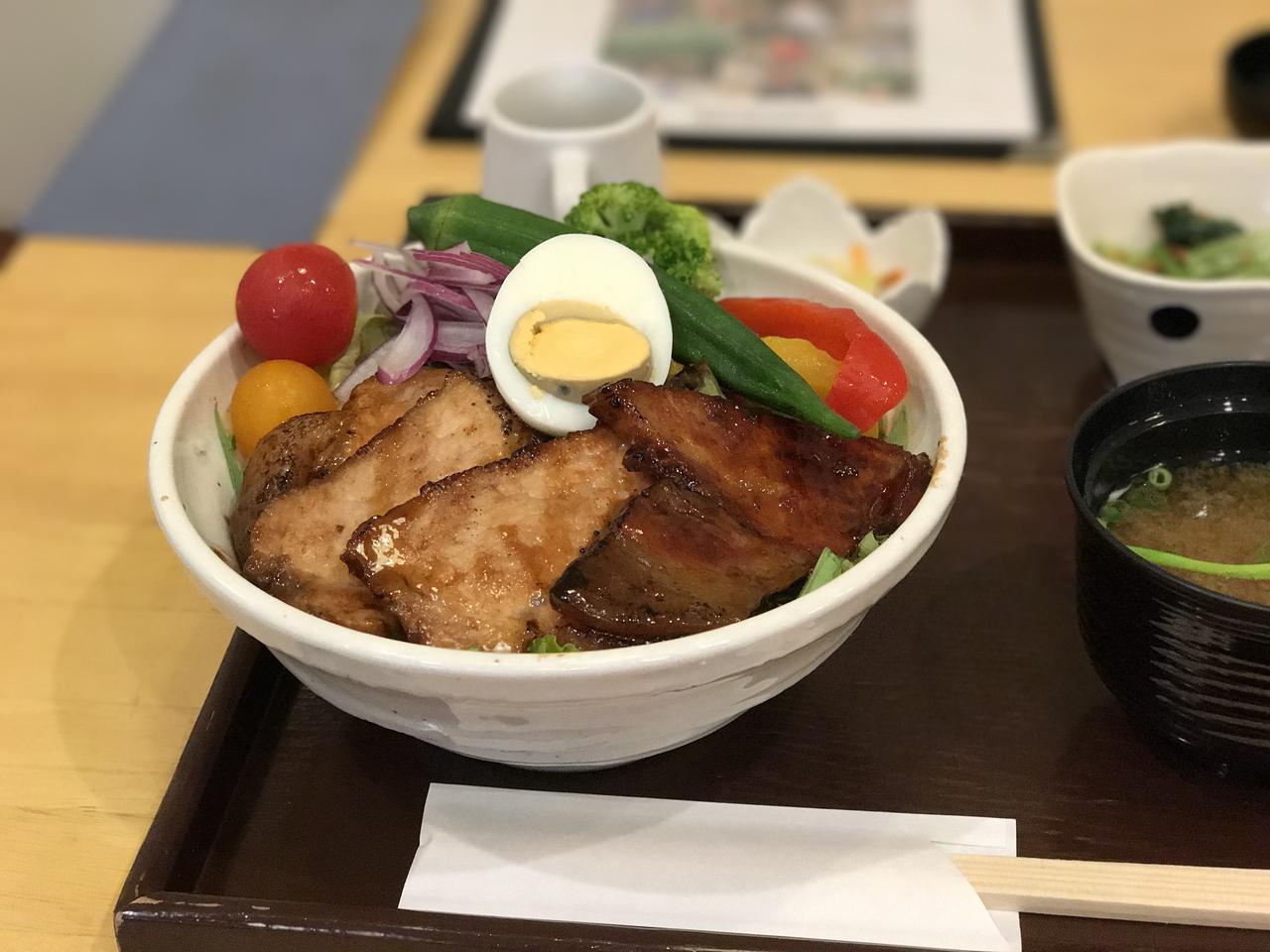 画像: 奈良の農園直送レストランで頂いたヤマトポーク、脂がのっていてすごく美味しい! 奈良に行ったらまた頂こうと思います。