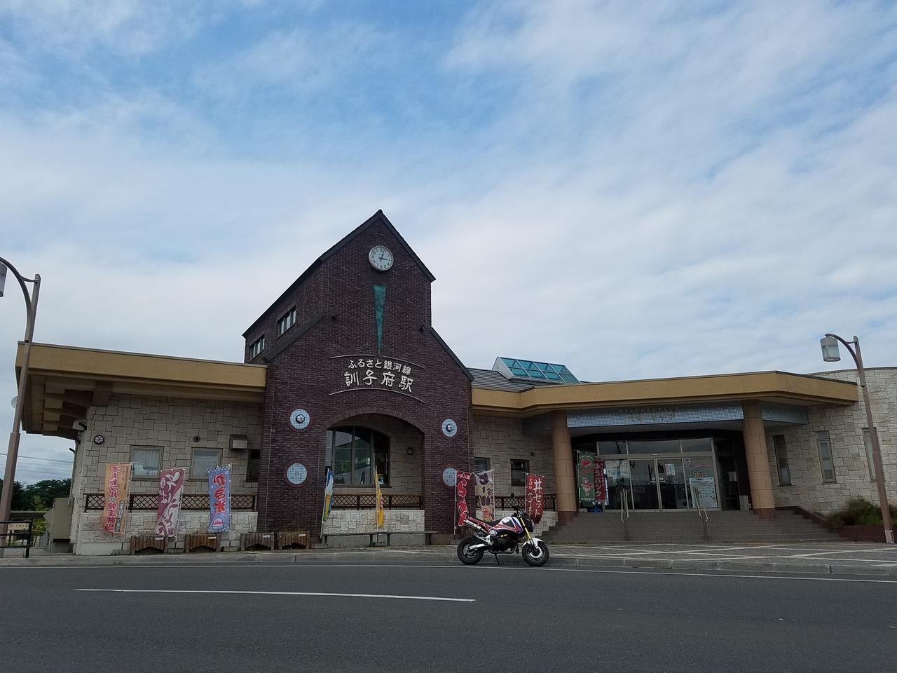 画像: 北海道ちほく高原鉄道ふるさと銀河線(2006年廃線)の訓子府駅