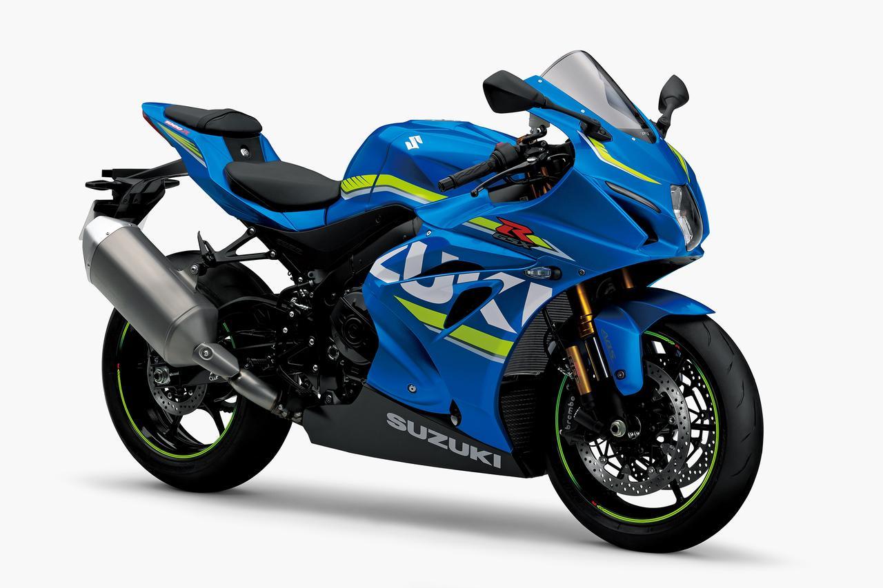 画像: SUZUKI GSX-R1000R ABS(トリトンブルーメタリック) ■税込価格:204万1200円