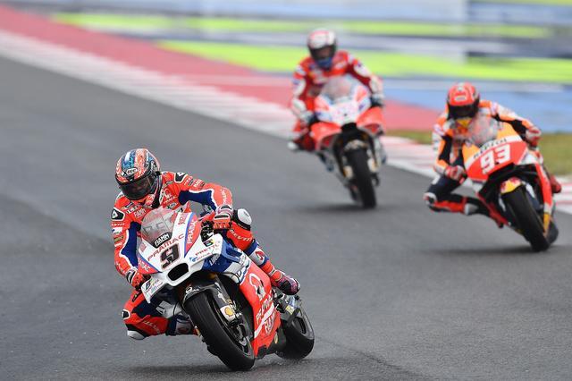 画像: レース大半はこの順位。ここからドビツィオーゾが徐々に後退します