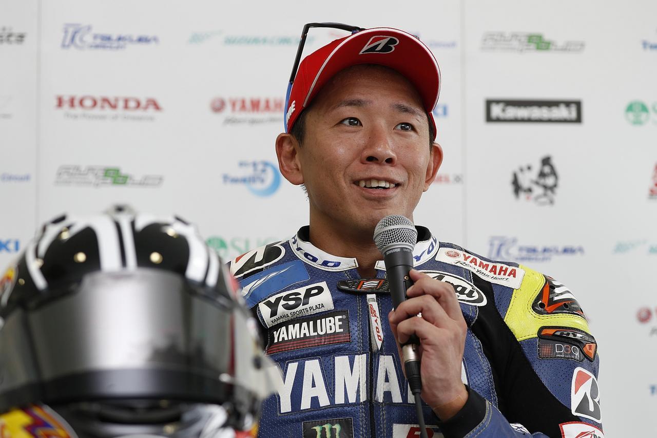 画像: もはや風格すら漂うV5チャンピオン中須賀。10月の日本グランプリにもワイルドカード参戦します!