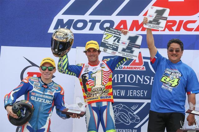 画像: 最終戦を残してチャンピオンを決めたエリアス ヨシムラスズキGSX-R、ランキング1-2を獲得です!