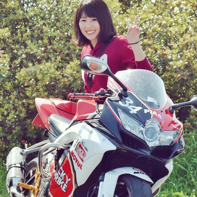 画像: モリメグ(森 愛美) - オートバイ & RIDE