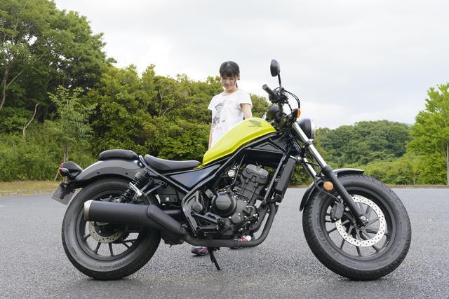 画像: ほぼ月刊「梅本まどかとオートバイ」vol.8 HONDA REBEL250
