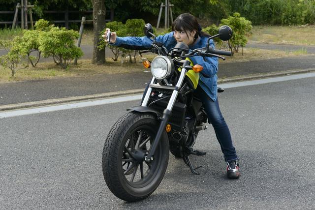画像: ちなみに、梅ちゃんのバイク選びの基準はルックス重視? 乗り味重視?