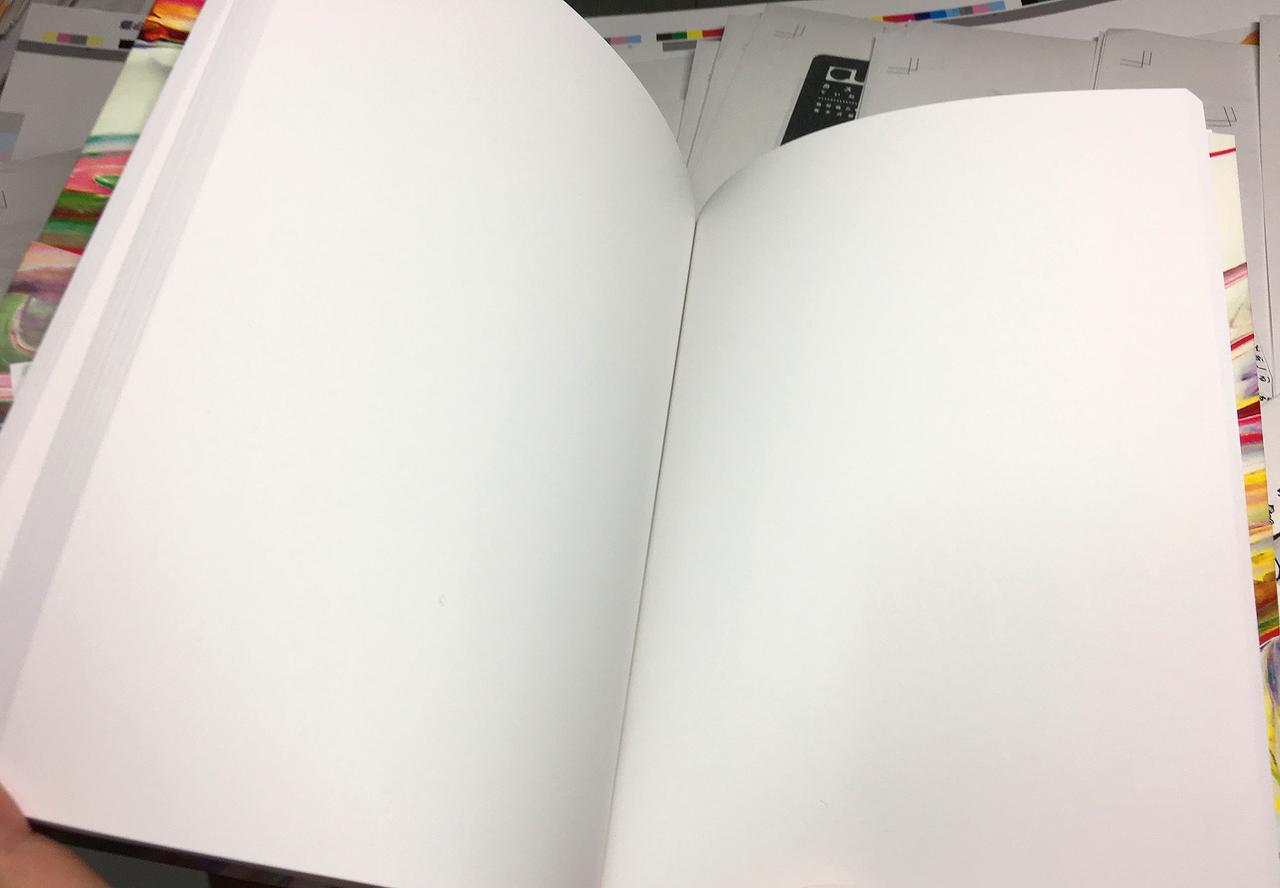 画像: ま、あくまで見本のパッケージなんで、中身は真っ白なんですけどね。 これは「束見本(つかみほん)」と呼ばれるもので、実際の色味、大きさ、厚み、重さなんかを確認するものです。ま、表紙はプロトタイプなので、実際に発売されるものは、さらなる改良を加えたものです。