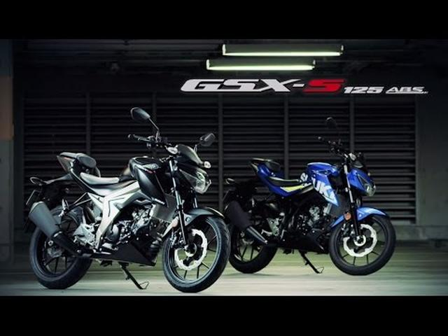 画像: GSX-S125 ABS official promotional movie youtu.be