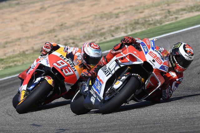 画像: レース終盤まではトップを走ったロレンソ ペースダウンするタイミングが、どんどん遅くなっていますね
