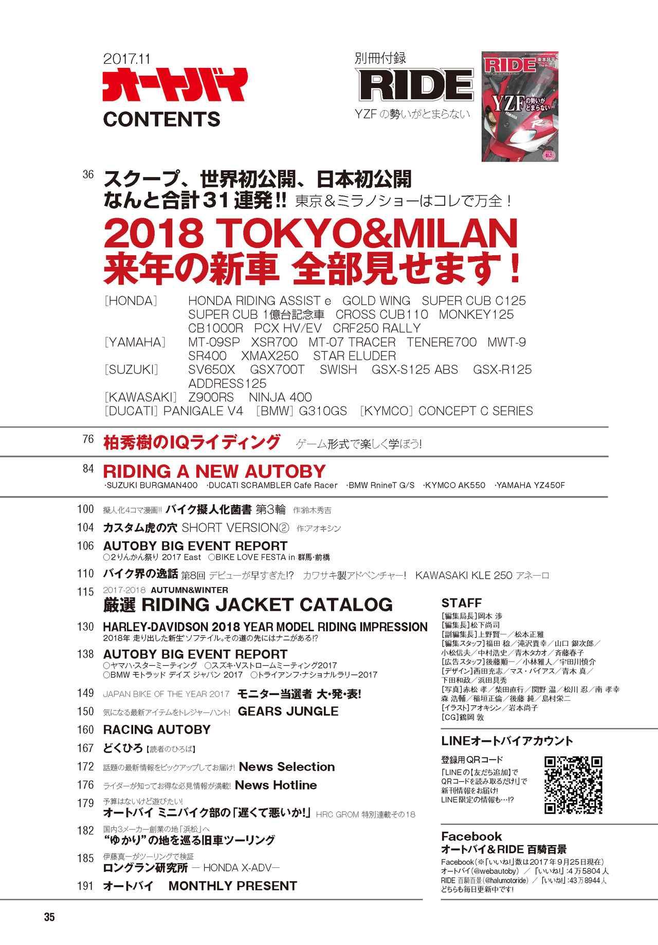 画像2: 【東京モーターショー2017】【EICMA2017】の出展車両をスクープ!