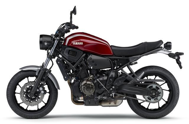 画像4: YAMAHA XSR700 ABS(ダルレッドメタリック)